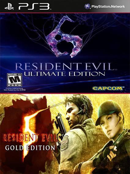 2 Juegos En 1 Resident Evil 5 Gold Edition Mas Resident Evil 6